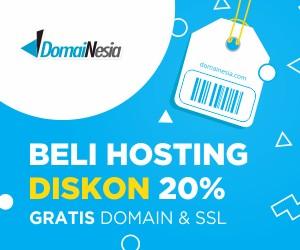 Paket Hosting Lite Domainesia Cocok Untuk Blogger Pemula